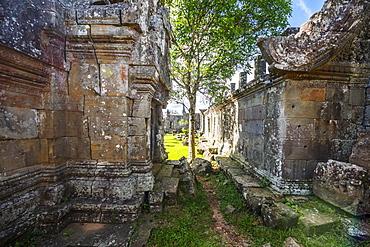 Courtyard in Gopura II, Preah Vihear Temple, Preah Vihear, Cambodia