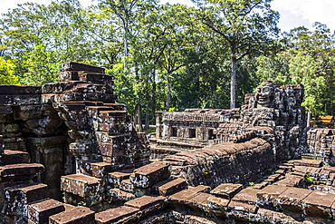 Library of the Bayon, Angkor Thom, Siem Reap, Cambodia