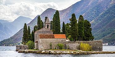 Benedictine Monastery in Perast, Bay of Kotor, Perast, Kotor Municipality, Montenegro