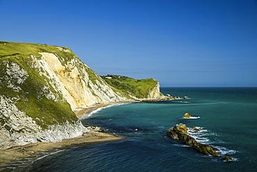 The Jurassic coastline, Dorset, England