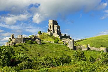 Corfe Castle, Corfe, Dorset, England