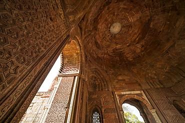 The historic sight called Qutub Minar, Delhi, India