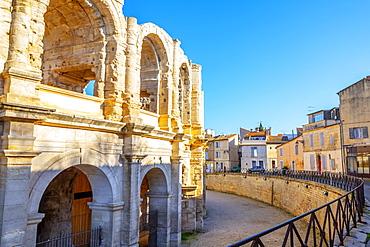 Arles Amphitheatre, Provence Alpes Cote d'Azur, France