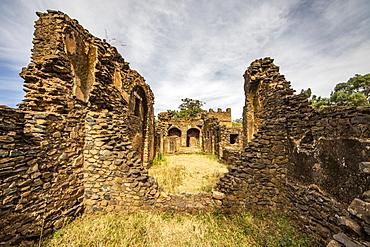 Turkish baths, Fasil Ghebbi (Royal Enclosure), Gondar, Amhara Region, Ethiopia