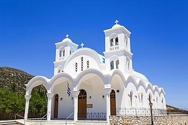 Church of Aspro Horio; Drios Village, Paros Island, Cyclades, Greece