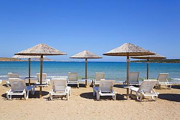 Plage Siparos Beach; Paros Island, Cyclades, Greece