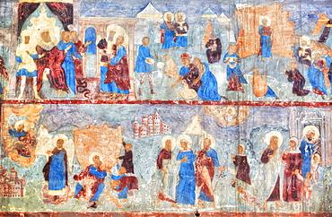 Fresco, St Michael the Archangel Church; Yaroslavl, Yaroslavl Oblast, Russia