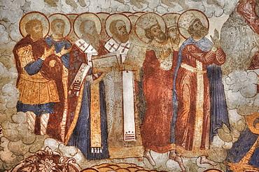 Fresco, Saviour Church on the City; Yaroslavl, Yaroslavl Oblast, Russia