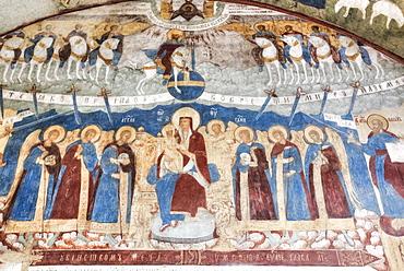 Church of Elijah the Prophet, with colourful frescoes; Yaroslavl, Yaroslavl Oblast, Russia