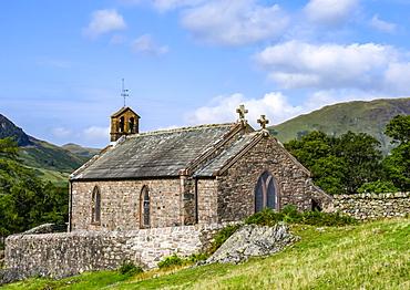 St James Church, 1840, English Lake District; Buttermere, Cumbria, England