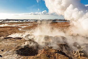 Gunnuhver Hot Spring, Reykjanes Peninsula; Iceland