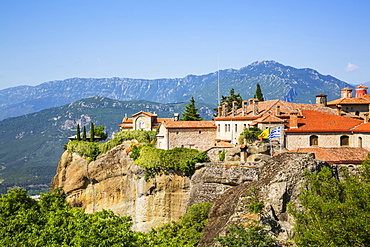 Holy Monastery of St. Stephen, Meteora; Thessaly, Greece