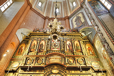 St Basil's Cathedral, interior view of altar; Moscow, Russia