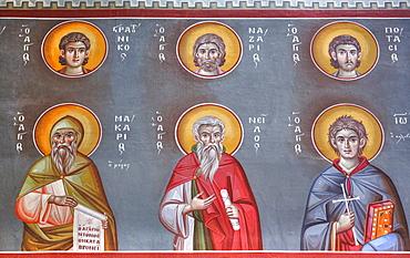 Fresco, St Johns Forerunners Parish; Athens, Greece