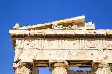 Relief, Parthenon, Acropolis; Athens, Greece