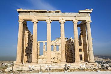 Temple of Erectheion, Acropolis; Athens, Greece