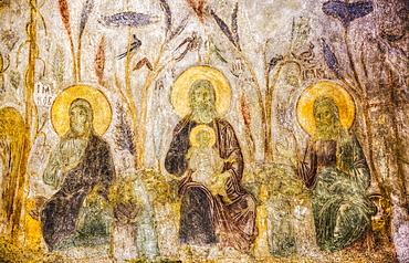 Original Fresco, St Demetrius Cathedral (1194-97); Vladimir, Russia