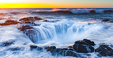 Thor's Well, Cape Perpetual Scenic Area; Oregon, United States of America
