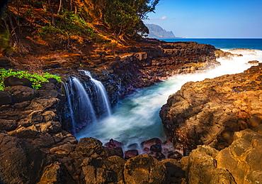 Queen's Bath; Kauai, Hawaii, United States of America