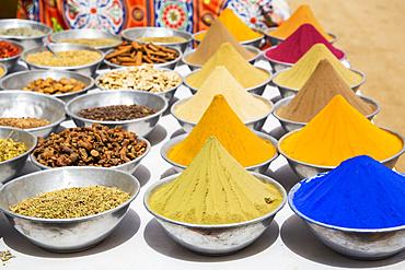 Spices, Nagaa Suhayi Gharb, Nubian Village; Aswan, Egypt