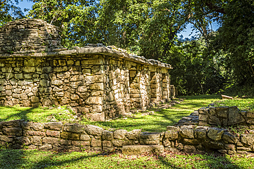 Yaxchilan, an ancient Maya city; Usumacinta Province, Chiapas, Mexico