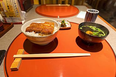 Famous Eel dish; Kyoto, Kansai, Japan