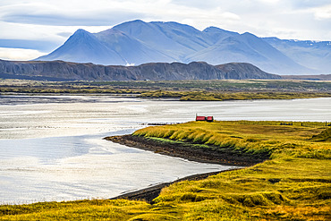 Coastline of Northwest Iceland, Vatnsnes peninsula; Hunaping vestra, Northwestern Region, Iceland