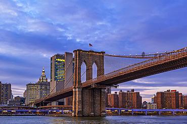 Brooklyn Bridge, Manhattan; New York City, New York, United States of America