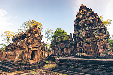 Banteay Srei Temple, Angkor Wat complex; Siem Reap, Cambodia