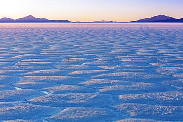 Landscape in the Salar de Uyuni; Potosi, Bolivia