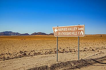 Lodge sign, Namib-Naukluft National Park; Namibia