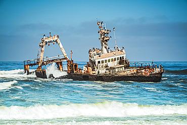 Zeila Of Hangana shipwreck, Skeleton Coast, Dorob National Park; Namibia