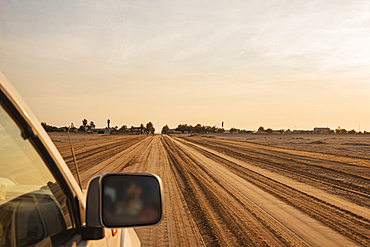 Driving to Henties Bay, Skeleton Coast, Dorob National Park; Namibia