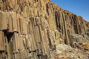 Organ Pipes, iron rich lava formations, Damaraland; Kunene Region, Namibia