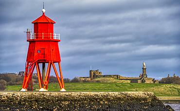 Herd Groyne Lighthouse; South Shields, Tyne and Wear, England