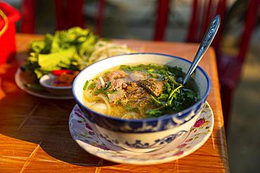 Traditional soup; Hue, Thua Thien-Hue Province, Vietnam