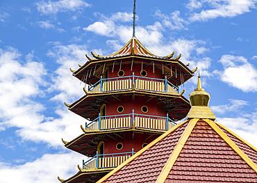 Vihara Buddhayan Buddhist Temple, Tomohon, North Sulawesi, Indonesia