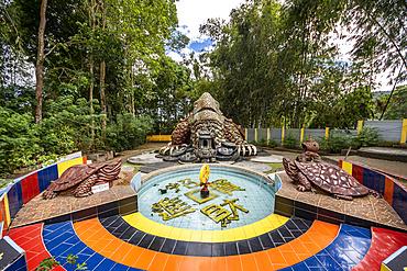 Vihara Buddhayan Buddhist Temple; Tomohon, North Sulawesi, Indonesia