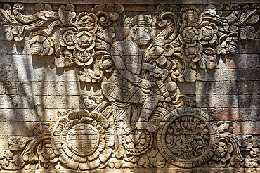 Bas-relief at Pura Meduwe Karang temple; Bali, Indonesia