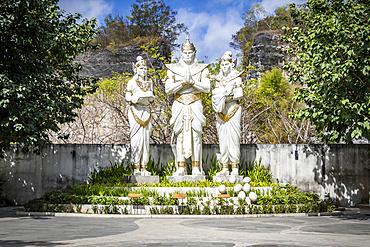 Vishnu statues at Garuda Wisnu Kencana Cultural Park; Bali, Indonesia