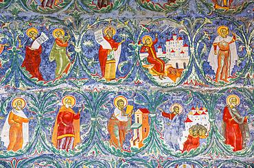 External Fresco, Sucevita Monastery, 1585; Sucevita, Suceava County, Romania