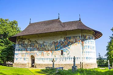 Arbore Monastery, 1502; Arbore, Suceava County, Romania