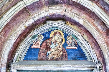 Fresco, St John The New Monastery, 1514; Suceava, Suceava County, Romania