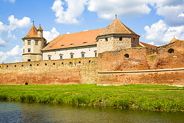 Fagaras Citadel, 14th century; Fagaras, Brasov County, Transylvania Region, Romania
