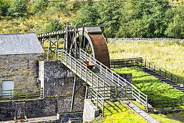 Killhope Lead Mining Museum; Upper Weardale, County Durham, England