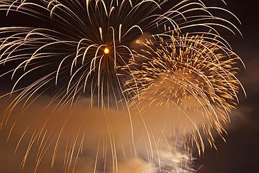 Celebration of Light Fireworks, English Bay, Vancouver, British Columbia, Canada