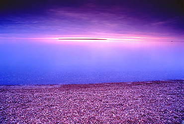 Agawa Bay at Dusk Lake Superior Provincial Park Ontario, Canada