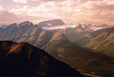 View from Mount Saint Piran Near Lake Louise Banff National Park, Canada