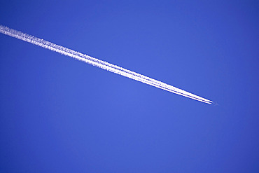 Jet and Contrail