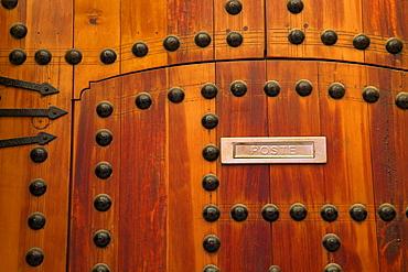 Door, Medina, Meknes, Morocco, North Africa, Africa